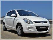 2011 Hyundai i20 PB Active White Manual Hatchback Brookvale Manly Area Preview
