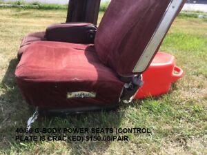 40/60 G-Body Power Seats