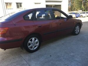 2003 Hyundai Elantra XD GLS Burgundy 4 Speed Automatic Hatchback Wauchope Port Macquarie City Preview