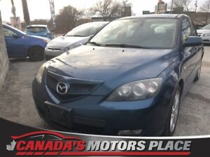 2007 Mazda Mazda3 GT GT LEATHER SUNROOF ALLOYS GT LEATHER SUNROO