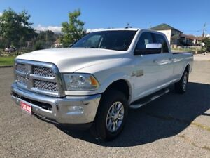 2016 Ram 3500 Laramie|Diesel|Leather|Back Up Cam|Navi|Accident F