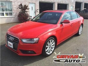 Audi A4 Komfort Quattro Cuir Toit Ouvrant AWD MAGS 2014
