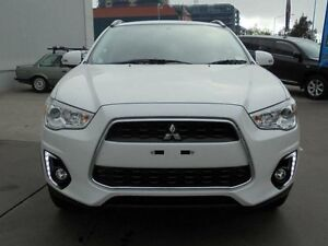 2016 Mitsubishi ASX XB MY15.5 LS (2WD) White Continuous Variable Wagon Belconnen Belconnen Area Preview