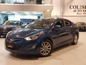 2015 Hyundai Elantra SPORT-AUTO-SUNROOF-CAMERA-ONLY 72KM