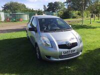 07 Toyota Yaris 1.0 petrol New Mot 49k MILES £2150