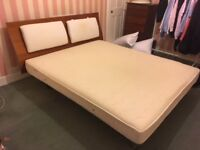 FABULOUSLY COMFORTABLE SUPER KING SIZE DOUBLE BED - 200 cms x 170cms - very reluctant sale