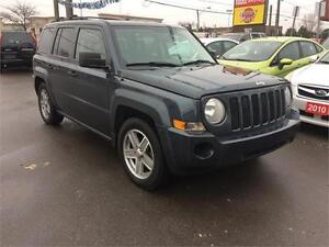 2008 Jeep Patriot Sport, auto, CERTIFIED. alloy, 4cyl,wrnty