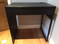 Micke ikea desk, in black brown very good condition its hardly been used.