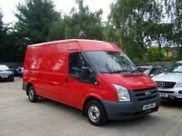 2012 FORD TRANSIT 2.2 TDCi 300 LWB Medium Roof 6 SPEED + AIR CON NO VAT