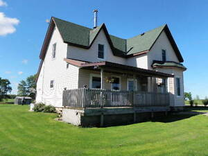 BRUCE TWP- 99.66 ACRES FARM WITH NICELY KEPT HOME!