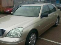LEXUS LS430 SAT NAV LEATHER ALLOYS 12 MONTHS MOT
