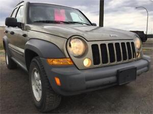 2005 Jeep Liberty Sport 4x4 Safety Inspected
