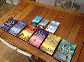 Jack reacher - lee child books
