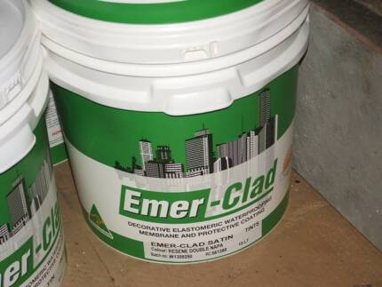 CLEARANCE - WATERPROOFING MEMBRANE EMER-CLAD ELASTOMERIC Arana Hills Brisbane North West Preview