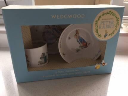 Wedgwood Peter Rabbit Boy 3 Piece Set
