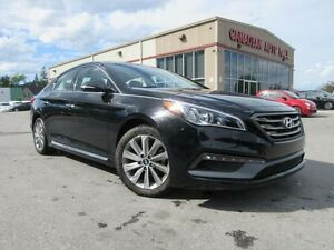2016 Hyundai Sonata SPORT TECH, NAV, ROOF, LEATHER, 51K!