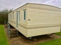 Cheap holiday home for £3995. available on pet friendly park with great views and facilities