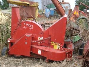 Gehl 1560 Whirl A Feed Forage Blower