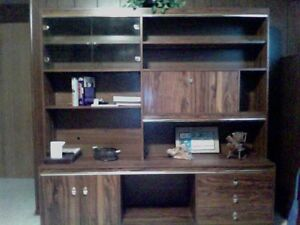 hutch &display cabinet combo