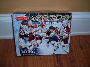 Melissa & Doug Preschool Hockey Floor Puzzle