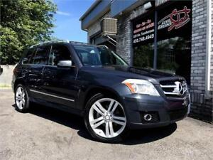 2010 MERCEDES-BENZ GLK 350 4 MATIC AWD TOIT PANO MAGS 20 POUCES