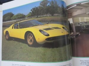 Car Coffee Table Book Lot Lamborghini & Jaguar Cambridge Kitchener Area image 6