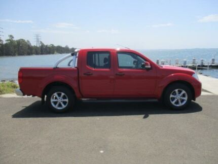 2012 Nissan Navara D40 MY12 ST (4x2) Red 5 Speed Automatic Dual Cab Pick-up Dapto Wollongong Area Preview