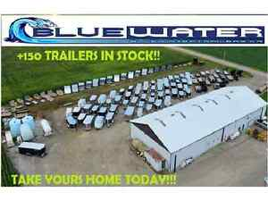 2016 Load Trail Solid Side Utility 83 x 14!! IN STOCK-$78/MONTH! London Ontario image 8