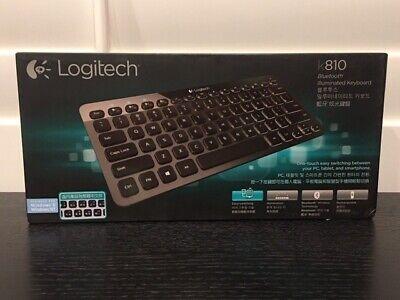 Brand NEW--Logitech K810 Bluetooth Illuminated Keyboard w/CHINESE Symbols