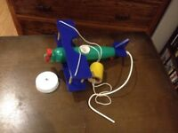 Child`s room ceiling aeroplane light for sale  Hampshire