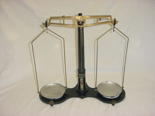 Vintage Central Scientific Co CENCO Balance Scale with Brass Parts circa 1918