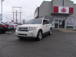 2012 Ford Escape XLT  cuir,toit ouvrant &+++++  47$/SEMAINE ++++