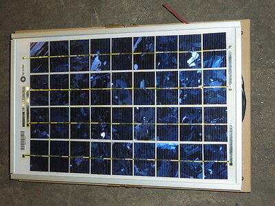 New Bp Solar Panel Sx310m 16.5 X 10.5 12v 10 Watt Multicrystaline Panels