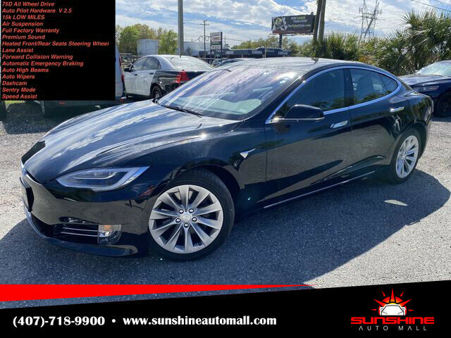 Image 1 Coche Americano usado Tesla Model S 2018