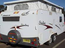 #1863 Jayco 18', SHW, Wall A/C, R/out & new shade wall 12 reg Penrith Penrith Area Preview