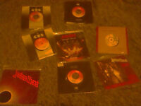 Rock and Heavy Metal cds and tour memorabilia