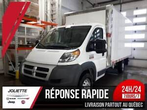 2015 Ram ProMaster 3500 Cab Chassis Low Roof, BT 14 PIED, RAMPE
