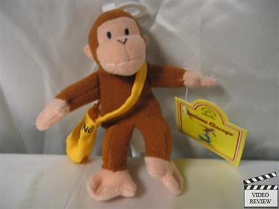 Curious George Mail Man plush finger puppet; Applause NEW](Curious George Man)