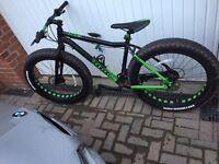 Excellent condition Voodoo Wazoo Fat Bike