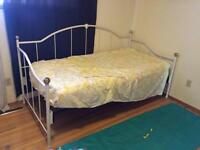 Metal Bed Frame and Mattress **Reduced Price**