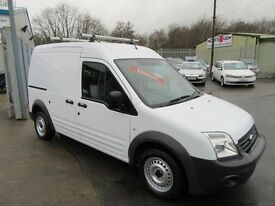 Ford Transit Connect T230 HR 1d 90 BHP service history (black) 2010