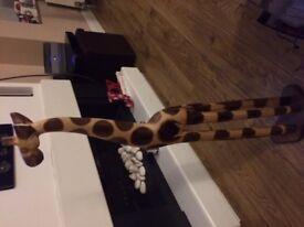 Giraffe - Large- wooden