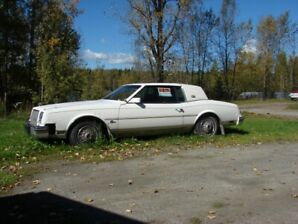 1982 Buick Riviera Classic Looking for a Vintage Car Enthusiast