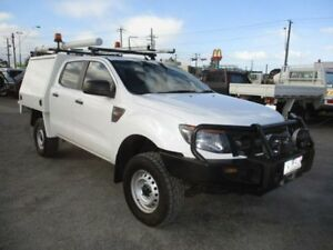 2012 Ford Ranger White Manual Cab Chassis
