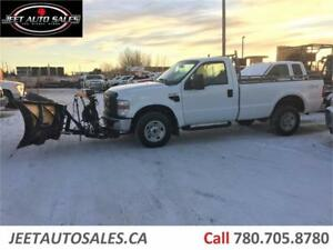 2008 Ford Super Duty F-250 XL 4X4 with Fischer Snow Plow