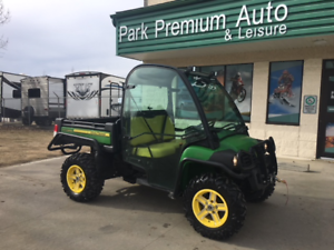 ONLY 109 BI-WEEKLY!! 2015 JOHN DEER GATOR 825i WITH DELUXE CAB!!