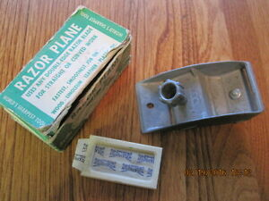 Vintage Metal Razor Plane in Original Box Made in U.S.