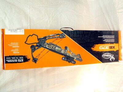 NEW IN BOX BARNETT WILDGAME XB370 ELUDE CAMO 35.4in COMPOUND CROSSBOW BAR78194