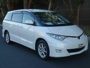 2006 Toyota Tarago ULTIMA Estima Import White 4 Speed Tiptronic Wagon Taren Point Sutherland Area Preview