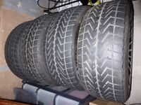 Winter tyres & BMW rims, suitable for 3 & 1 series
